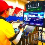 Playing Alien Shooting Arcade Games