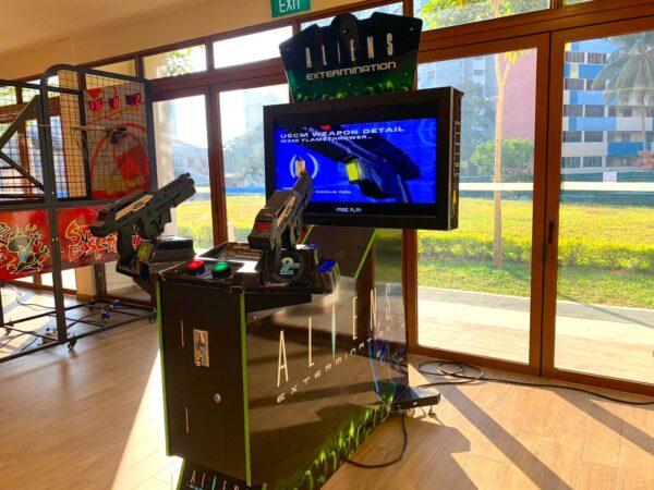 Alien Extermination Shooting Arcade Machine
