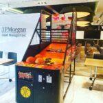 Arcade Basketball machine in office