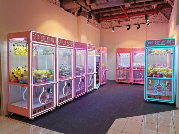 Claw Machine Retail Franchise Singapore
