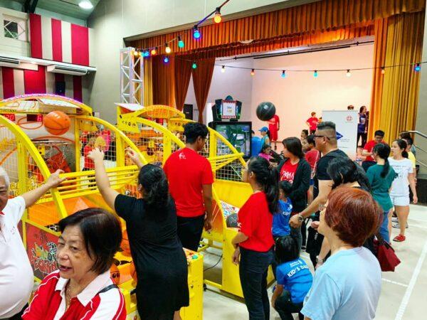 Kids Arcade Basketball Rental