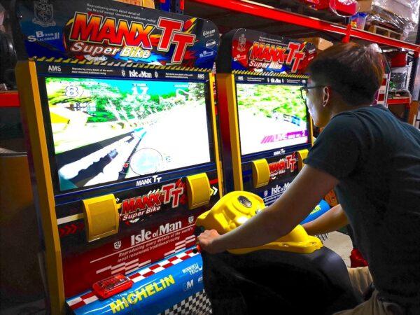 Max TT Motorbike Arcade Machines Rental