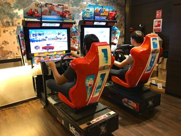 Outrun racing Arcade Rental Singapore 1
