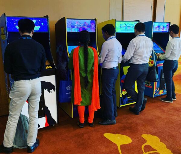 Retro Video Arcade Machines for Rent