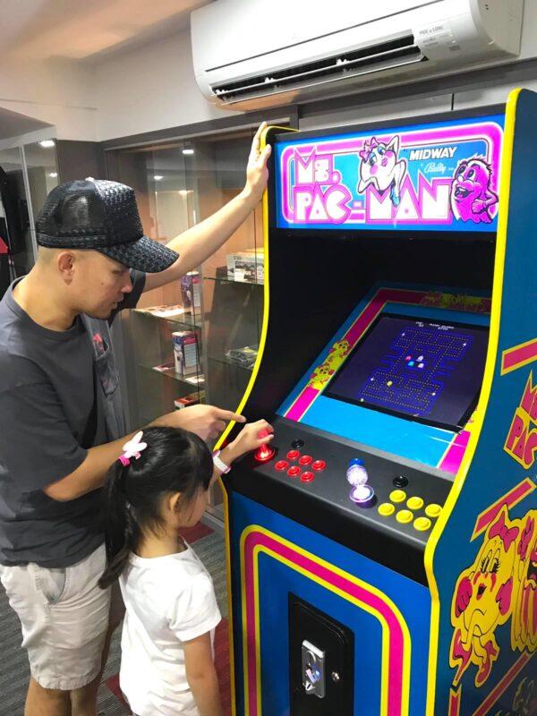 Retro Video Arcade Rental 1