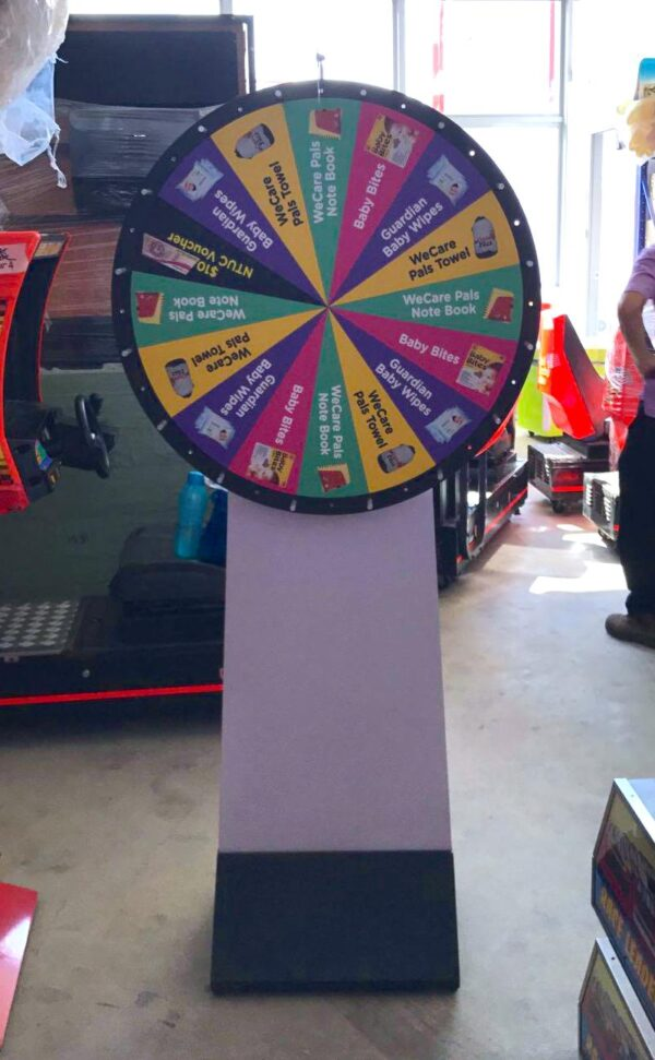 Spin the Wheel Rental 1