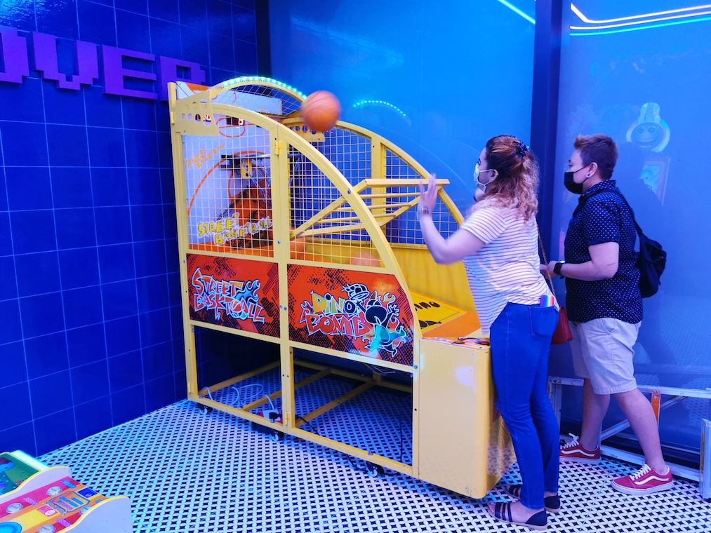 Children Basketball Arcade Game Rental Singapore