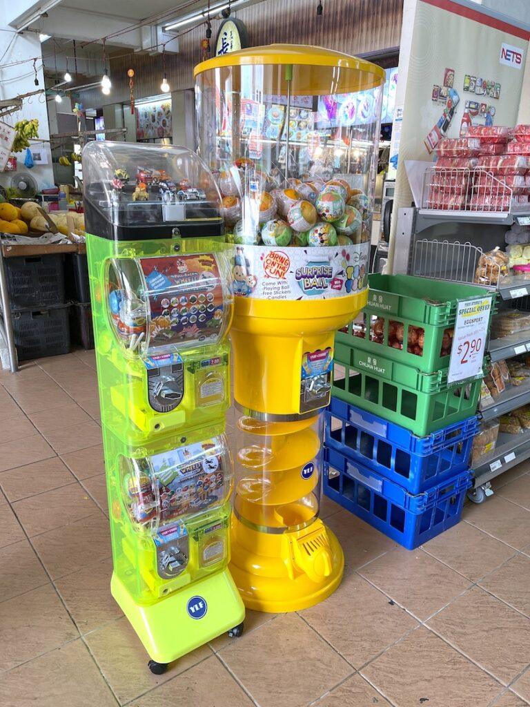 Gashapon Capsule Balls Vending Dispenser Machine Singapore