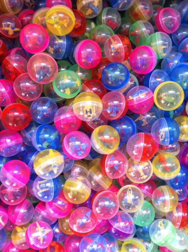 Small 50mm gashapon capsule balls in Singapore