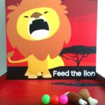 Feed the Lion Game Stall Rental Singapore