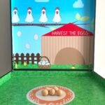 Harvest the Eggs Game Stall Rental Singapore