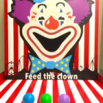 feed the clown Game Stall Rental Singapore
